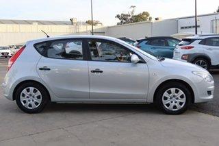 2009 Hyundai i30 FD MY09 SX Silver, Chrome 4 Speed Automatic Hatchback