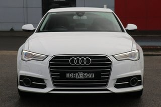 2015 Audi A6 4G MY16 S Line S Tronic White 7 Speed Sports Automatic Dual Clutch Sedan