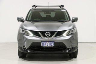2017 Nissan Qashqai J11 TI Grey Continuous Variable Wagon.