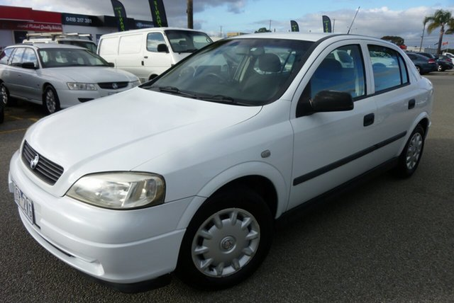 Used Holden Astra TS Classic, 2004 Holden Astra TS Classic White 4 Speed Automatic Sedan