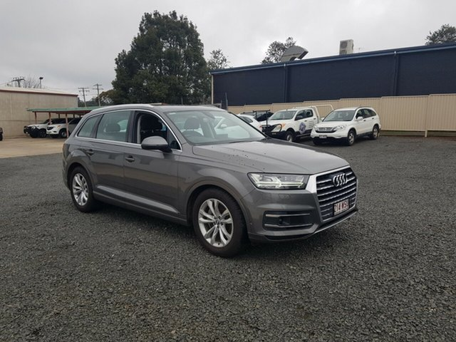 Used Audi Q7 4M MY16 TDI Tiptronic Quattro, 2015 Audi Q7 4M MY16 TDI Tiptronic Quattro Graphite Grey 8 Speed Sports Automatic Wagon