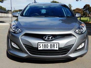 2013 Hyundai i30 GD2 SR Grey 6 Speed Sports Automatic Hatchback.