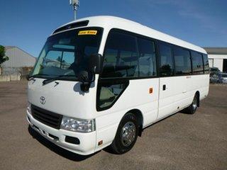 2014 Toyota Coaster XZB50R White Passenger Bus 4.0l.