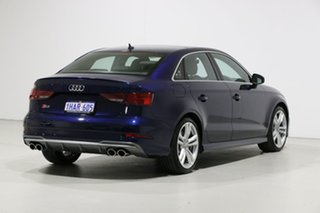 2018 Audi S3 8V MY19 2.0 TFSI Quattro Blue 7 Speed Auto S-Tronic Sedan