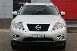 2015 Nissan Pathfinder R52 MY15 ST-L X-tronic 2WD Silver 1 Speed Constant Variable Wagon