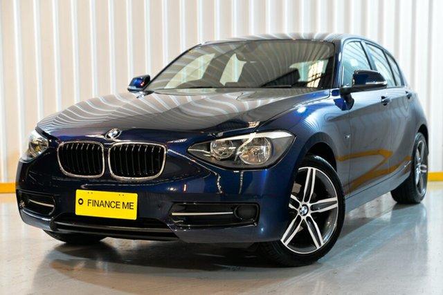 Used BMW 116i F20 MY0314 Steptronic, 2014 BMW 116i F20 MY0314 Steptronic Blue 8 Speed Sports Automatic Hatchback