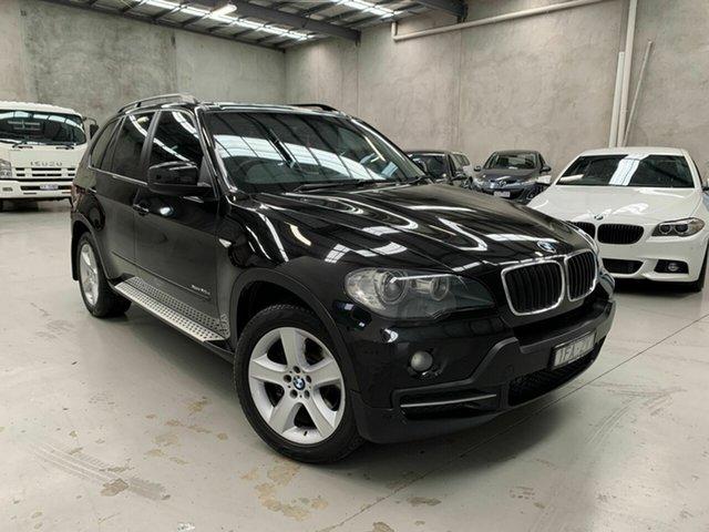 Used BMW X5 E70 MY10 xDrive30d Steptronic, 2009 BMW X5 E70 MY10 xDrive30d Steptronic Black 6 Speed Sports Automatic Wagon