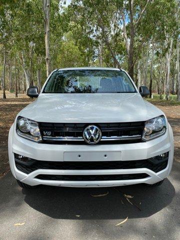 Demo Volkswagen Amarok 2H MY20 TDI500 4MOT Core, 2019 Volkswagen Amarok 2H MY20 TDI500 4MOT Core Candy White 6 Speed Manual Utility
