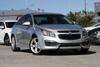 2015 Holden Cruze JH Series II MY15 SRi-V Silver 6 Speed Sports Automatic Sedan.