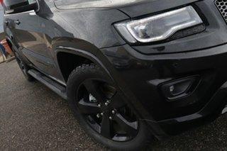 2015 Jeep Grand Cherokee WK MY15 Blackhawk Black 8 Speed Sports Automatic Wagon.