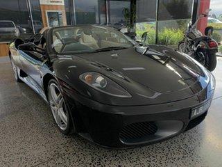 2006 Ferrari F430 Spider Black 6 Speed Formula One Convertible.