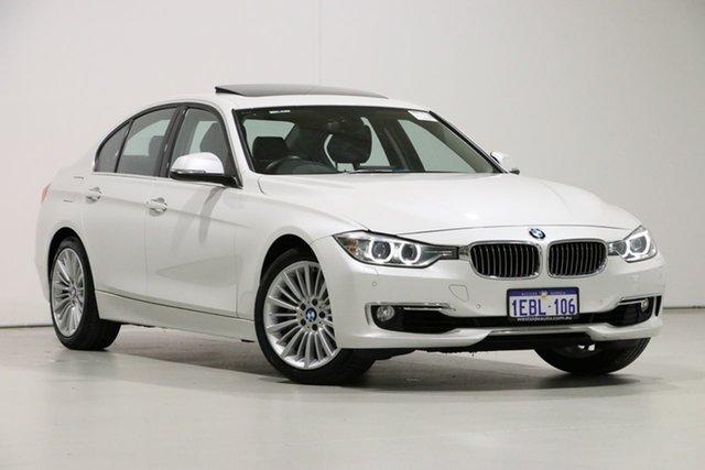 Used BMW 335i F30 Luxury Line, 2012 BMW 335i F30 Luxury Line White 8 Speed Automatic Sedan