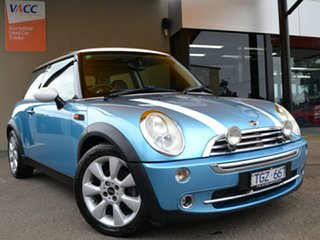 2004 Mini Hatch R50 MY05 Cooper Chilli Blue 6 Speed Constant Variable Hatchback.
