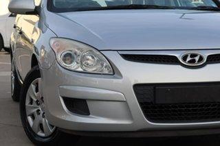 2009 Hyundai i30 FD MY09 SX Silver, Chrome 4 Speed Automatic Hatchback.