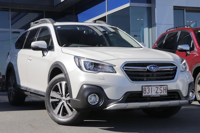 Demo Subaru Outback B6A MY20 3.6R CVT AWD, 2020 Subaru Outback B6A MY20 3.6R CVT AWD White Crystal 6 Speed Wagon