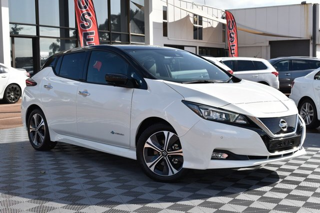 New Nissan Leaf ZE1 , 2020 Nissan Leaf ZE1 Ivory Pearl & Black Roof 1 Speed Reduction Gear Hatchback
