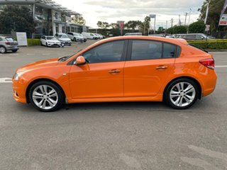 2013 Holden Cruze JH Series II MY14 SRi-V Orange 6 Speed Manual Hatchback