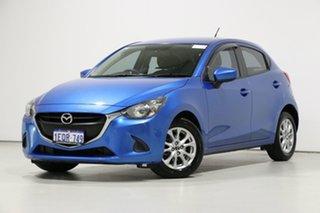 2014 Mazda 2 DJ Maxx Blue 6 Speed Manual Hatchback.
