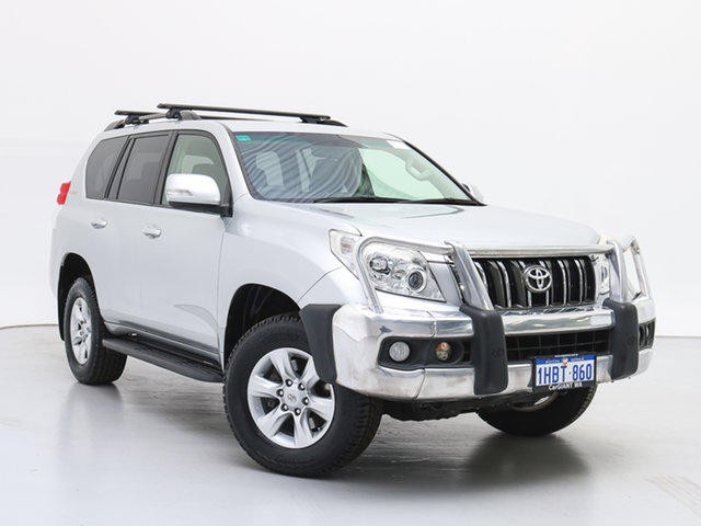 Used Toyota Landcruiser Prado KDJ150R 11 Upgrade GXL (4x4), 2013 Toyota Landcruiser Prado KDJ150R 11 Upgrade GXL (4x4) Silver 5 Speed Sequential Auto Wagon