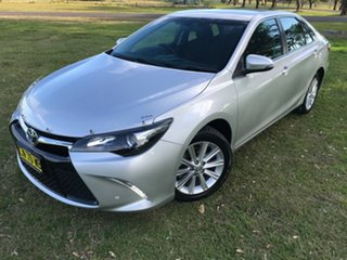 2017 Toyota Camry ASV50R Atara S Silver 6 Speed Sports Automatic Sedan.