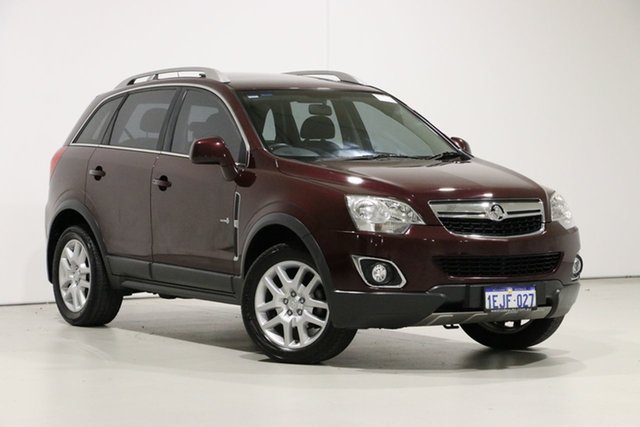 Used Holden Captiva CG MY13 5 LT (FWD), 2013 Holden Captiva CG MY13 5 LT (FWD) Red 6 Speed Manual Wagon