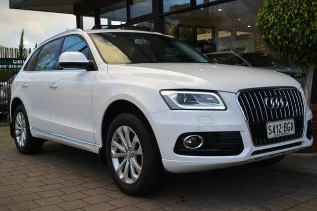 Used Audi Q5 8R MY15 TDI S Tronic Quattro, 2015 Audi Q5 8R MY15 TDI S Tronic Quattro White 7 Speed Sports Automatic Dual Clutch Wagon