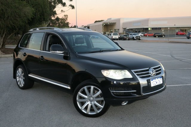 Used Volkswagen Touareg 7L MY10 V10 TDI 4XMOTION, 2009 Volkswagen Touareg 7L MY10 V10 TDI 4XMOTION Black 6 Speed Sports Automatic Wagon