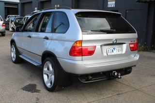 2001 BMW X5 E53 3.0I Silver 5 Speed Auto Steptronic Wagon