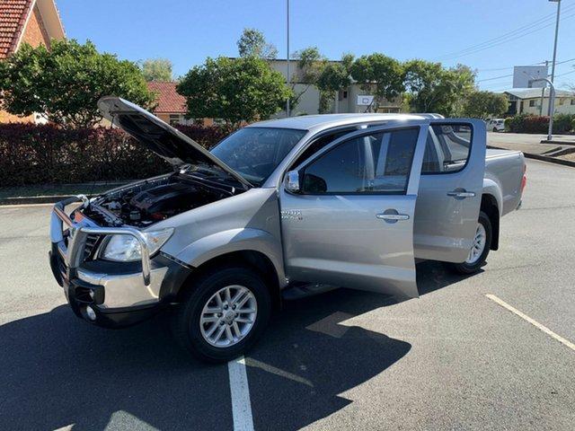 Used Toyota Hilux KUN26R SR5, 2015 Toyota Hilux KUN26R SR5 Silver 5 Speed Manual Dual Cab