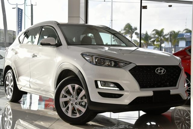 New Hyundai Tucson TL4 MY21 Active 2WD, 2020 Hyundai Tucson TL4 MY21 Active 2WD Pure White 6 Speed Automatic Wagon