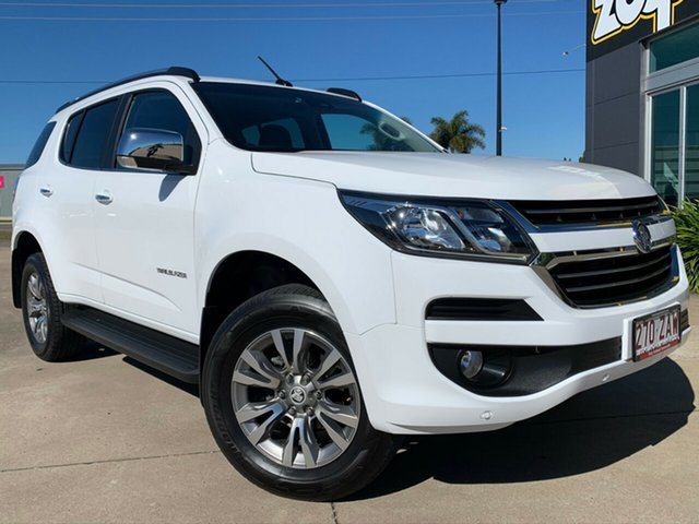 Used Holden Trailblazer RG MY20 LTZ, 2019 Holden Trailblazer RG MY20 LTZ White 6 Speed Sports Automatic Wagon