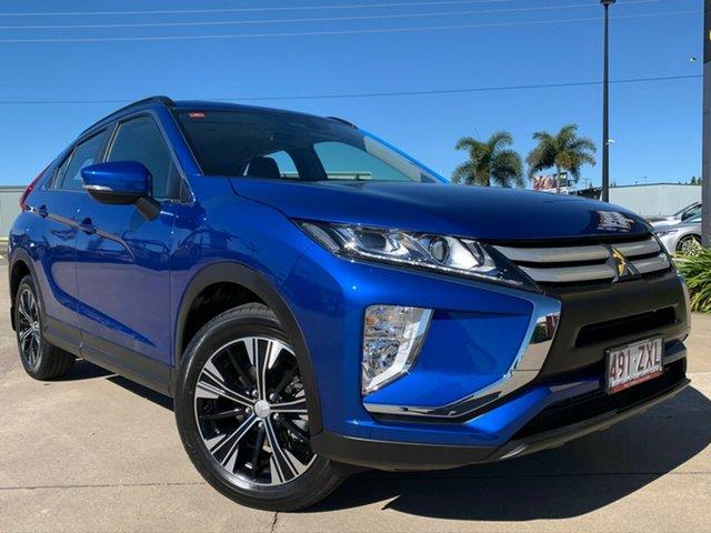 Used Mitsubishi Eclipse Cross YA MY20 ES 2WD, 2020 Mitsubishi Eclipse Cross YA MY20 ES 2WD Blue 8 Speed Constant Variable Wagon