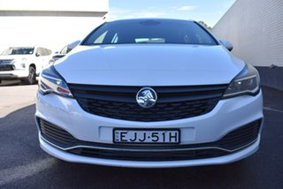 2018 Holden Astra BK MY18.5 R White 6 Speed Sports Automatic Hatchback.
