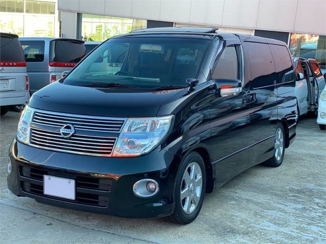 Used Nissan Elgrand Highwaystar Silverwater, 2009 Nissan Elgrand NE51 Highwaystar Black Automatic Wagon
