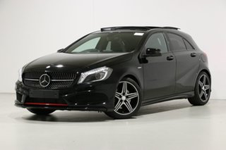 2014 Mercedes-Benz A250 176 MY15 Sport Black 7 Speed Automatic Hatchback.