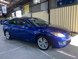 2008 Mazda 6 GH1051 Classic Blue 5 Speed Sports Automatic Hatchback