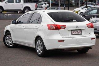 2010 Mitsubishi Lancer CJ MY11 ES Sportback White 6 Speed Constant Variable Hatchback.