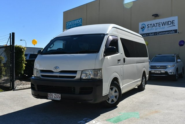 Used Toyota HiAce KDH223R MY07 Commuter, 2007 Toyota HiAce KDH223R MY07 Commuter White 4 Speed Automatic Bus