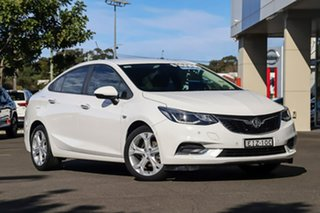 2017 Holden Astra BL MY17 LT White 6 Speed Sports Automatic Sedan.