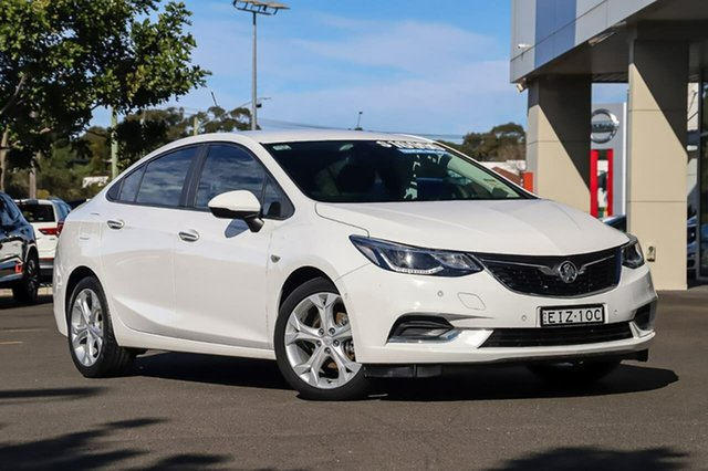 Used Holden Astra BL MY17 LT Sutherland, 2017 Holden Astra BL MY17 LT White 6 Speed Sports Automatic Sedan