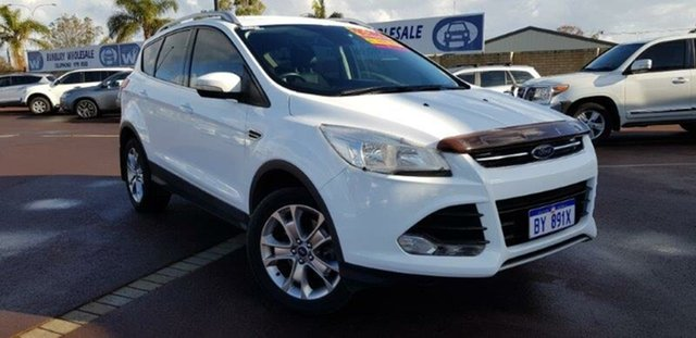 Used Ford Kuga TF MY16.5 Trend AWD East Bunbury, 2016 Ford Kuga TF MY16.5 Trend AWD White 6 Speed Sports Automatic Wagon
