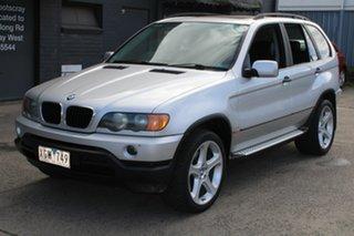 2001 BMW X5 E53 3.0I Silver 5 Speed Auto Steptronic Wagon.