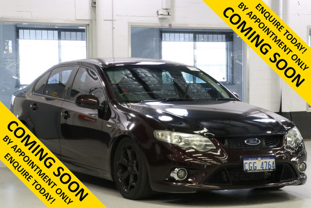 Used Ford Falcon FG XR6T, 2009 Ford Falcon FG XR6T Maroon 6 Speed Auto Seq Sportshift Sedan