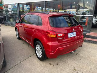 2011 Mitsubishi ASX XA MY11 Red 6 Speed Constant Variable Wagon