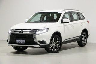 2018 Mitsubishi Outlander ZL MY18.5 ES 5 Seat (AWD) White Continuous Variable Wagon.