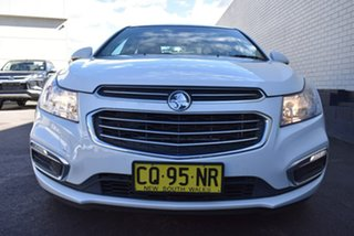 2016 Holden Cruze JH Series II MY16 Z-Series White 6 Speed Sports Automatic Sedan.