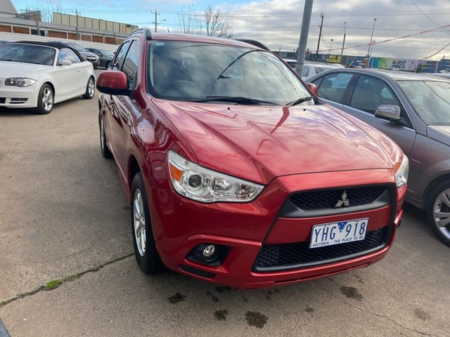 Used Mitsubishi ASX XA MY11 Maidstone, 2011 Mitsubishi ASX XA MY11 Red 6 Speed Constant Variable Wagon
