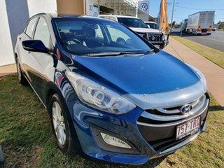 2014 Hyundai i30 GD SE Blue 6 Speed Automatic Hatchback.