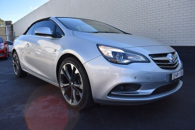 Used Holden Cascada CJ MY16 , 2016 Holden Cascada CJ MY16 Silver 6 Speed Sports Automatic Convertible