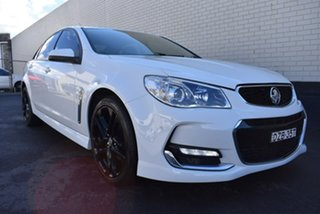 2016 Holden Commodore VF II MY16 SV6 White 6 Speed Sports Automatic Sedan.